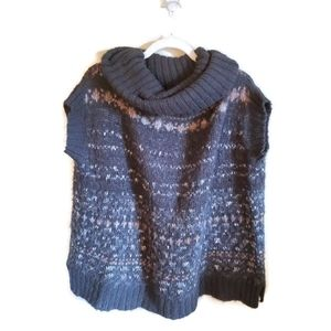 FREE PEOPLE Oversized Knit Sweater Vest Size Small
